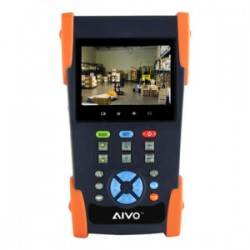"Avycon  AIVO-35T 3.5"" HD-TVI Network Tester and Digital Multi-meter"