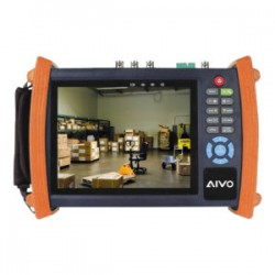 "Avycon  AIVO-70AET 7.0"" HD-TVI HD-SDI HD-CVI HD-AHD Network Tester and Digital Multi-meter"