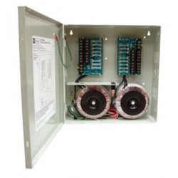 Altronix ALTV2416600UL 16 Output Power Supply, 24/28 VAC, 25/20 Amp, Fused, UL Listed