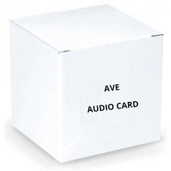 AVE 114038 Audio Card for Chainwatch, Voice Quality, Bi-Directional