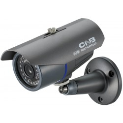 CNB B2760NVF High Resolution 530TV Lines, 3.8~9.5mm Day/Night Weather Proof Bullet Camera