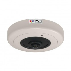 ACTi B57A 6 MP Video Analytics Indoor Hemispheric Dome Camera with D/N