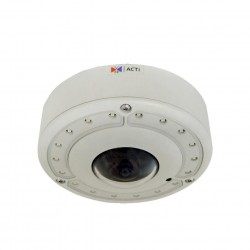 ACTi B76 12MP Video Analytics Outdoor Dome Camera Hemispheric with D/N
