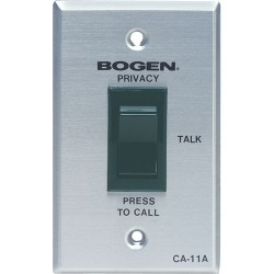 Bogen CA11A Call Privacy Switch with SCR