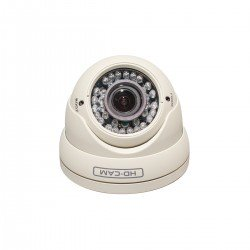 Cantek CAN-TVI50 1080p Outdoor Turret Camera 2.8-12mm