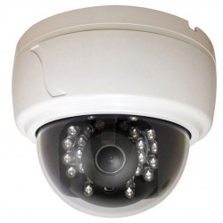 Speco CLED30D7W 600TVL Day/Night IR Dome Camera, 3.6mm