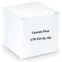 Cantek Plus CTP-TVI-GL-ISL Single Channel HD Video Ground Loop Isolator, BNC Female & BNC Male Connection