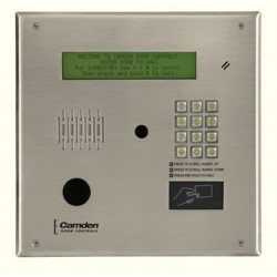 Camden Door Controls CV-TAC400B Master Directory, 4 Line Electronic Display with USB/485 Interface for Local Programming/Monitoring, Software Included