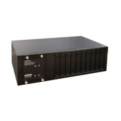 Comnet CWCHASSIS-US Commercial Grade Media Converter Rack Mount Chassis With Single or Dual Power Supplies