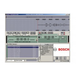 Bosch DCN-MRT Meeting Recorder Software - Transcription Module