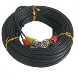 DHVision DH-PM-100B 100ft Premade Siamese Cable, Black
