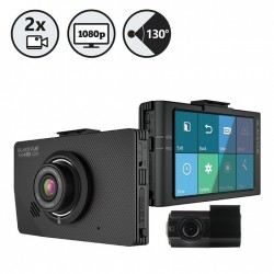 RVS Systems DR490L-2CH (16GB) Channel Dash Camera