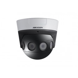 Hikvision DS-2CD6924F-IS 8 Megapixel Network Outdoor IR Panoramic Dome Camera, 4mm Lens