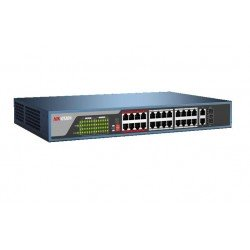 Hikvision DS-3E0326P-E 24-Ports 100Mbps Unmanaged PoE Switch