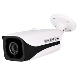 Ikegami EE-HDBIRMZ-A 1080p HD-AHD/TVI/CVI Analog Outdoor Bullet Camera, 2.8-12mm Lens