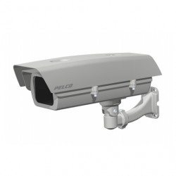 Pelco EH20-P-H IP66 GP Housing with Feedthrough Mount and Sunshade