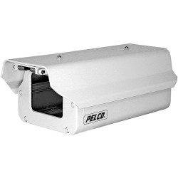 Pelco EH3508-2 8-inch Aluminum Enclosure with 24VAC Heater & Defroster
