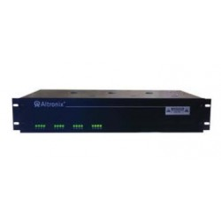 """Altronix R615DC8UL 8 Output Rack Mount Power Supply, 6-15 VDC @ 4 Amp, Fuse Protected, 2U EIA 19"""" Rack Mount Chassis, UL Listed"""