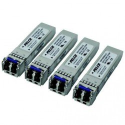 Pelco FSFP-EFSM2LC80 Interchangeable FSFP Transceiver with LC & SFP Connector, Single Mode