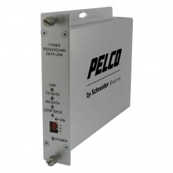 Pelco FTD1S1ST Single-Channel Fiber Transmitter Bidirectional Data