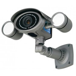 Speco HT7049IRVF Outdoor Day/Night Bullet Camera with 98 LEDs, 6-50mm Lens