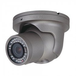 Speco HT6041T 2Mp Outdoor HD-TVI IR Vandal Turret Dome