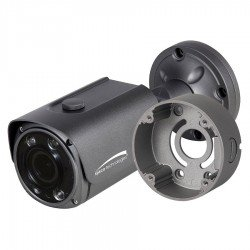 Speco HTFB4TM 4MP over Coax Bullet Camera, HD-TVI, 2.8-12mm