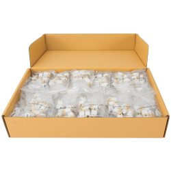 ICC IC1076FVWH RJ-11 HD Voice Modular Connector 400-Pack White