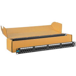 ICC ICMPP2460V 24-Port Category 6 Patch Panel 6 Pack