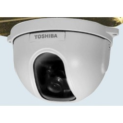 Toshiba IK-DF03A-3.6 Mini Vandal-Proof Dome Camera with 3.6mm lens
