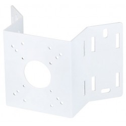 Speco INTCMW Outdoor Corner and Pole Mount Adapter, White
