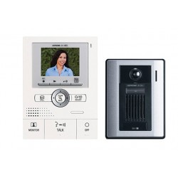 Aiphone JKS-1AED PTZ Hands-Free 1 X 2 Color Video Set W/Memory
