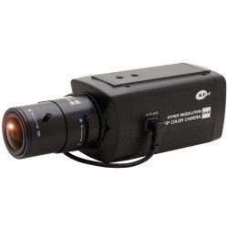 KT&C KPC-BSP6300NU 750TVL True Day/Night Box Camera, C/CS Mount
