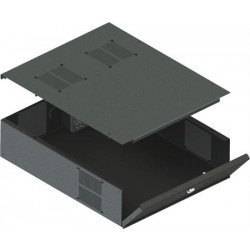 Speco LB3 DVR Lock Box with Fan Rack-mountable, Removable Top DVRLB3