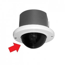 Pelco LD53HDF-0 Spectra IV / III HD Dome, In-Ceiling, Smoked
