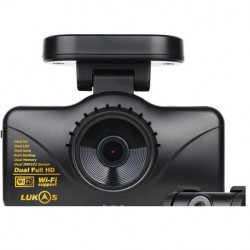 RVS Systems LK-7950 Dual Lens Dash Camera With Wifi And GPS