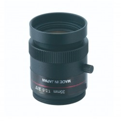 "Ganz M3556-MPW2-R 2/3"" 35mm f5.6, 5.0 Megapixel Ultra low Distortion Lens"