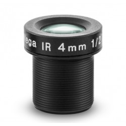 """Arecont Vision MPM4.0A 4mm, 1/2.5"""", F1.6 M12-mount, Fixed iris, IR Corrected Lens"""