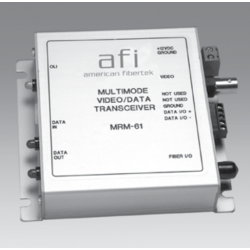 American Fibertek MTM-61 Video & Sensornet Data Module Transmitter