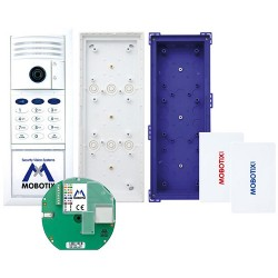 Mobotix MX-T25-SET1 T25 Camera Module W/ Keypad for Ethernet Kit White