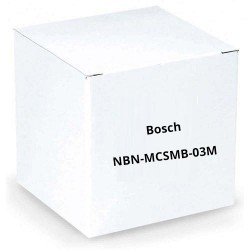 Bosch NBN-MCSMB-03M Analog Monitor Cable, SMB (Female) to BNC (Female)