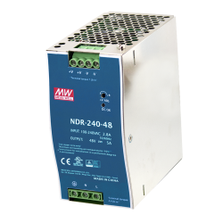 Vivotek NDR-240-48 240W Single Output Industrial DIN Rail