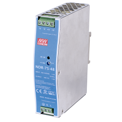 Vivotek NDR-75-48 75W Single Output Industrial DIN Rail