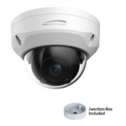 Speco O3VFDM 3MP Indoor/Outdoor 2.7-12mm Dome IP Camera -White Housing
