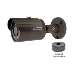 Speco O4B7 4MP Indoor/Outdoor 2.8mm Bullet IP Camera - Grey Housing