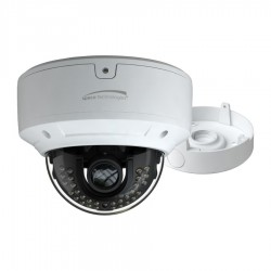 Speco O8D6M 4K H.265 Dome IP Camera with 3.3-12mm Lens White Housing