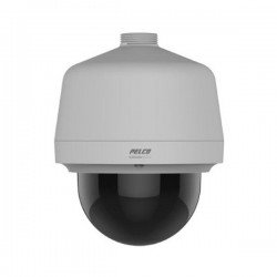 Pelco P1220-ESR1 2 Megapixel Network Pendant Outdoor Dome Camera, 20X Lens, Clear
