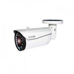 InVid PAR-ALLBIRA650D 2 Megapixel TVI/AHD/CVI/Analog Outdoor IR Bullet Camera, 6-50mm Lens