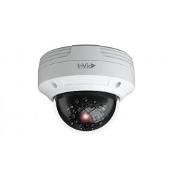 InVid Tech PAR-P4DRIR36 4MP 3.6mm IP Outdoor Rugged Dome Camera
