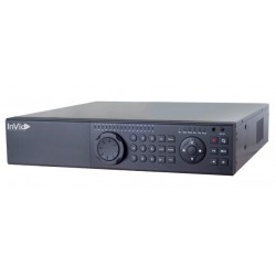 InVid PN1A-32X16-32TB 32 Channels Network Video Recorder with 16 Plug & Play Ports, 32TB